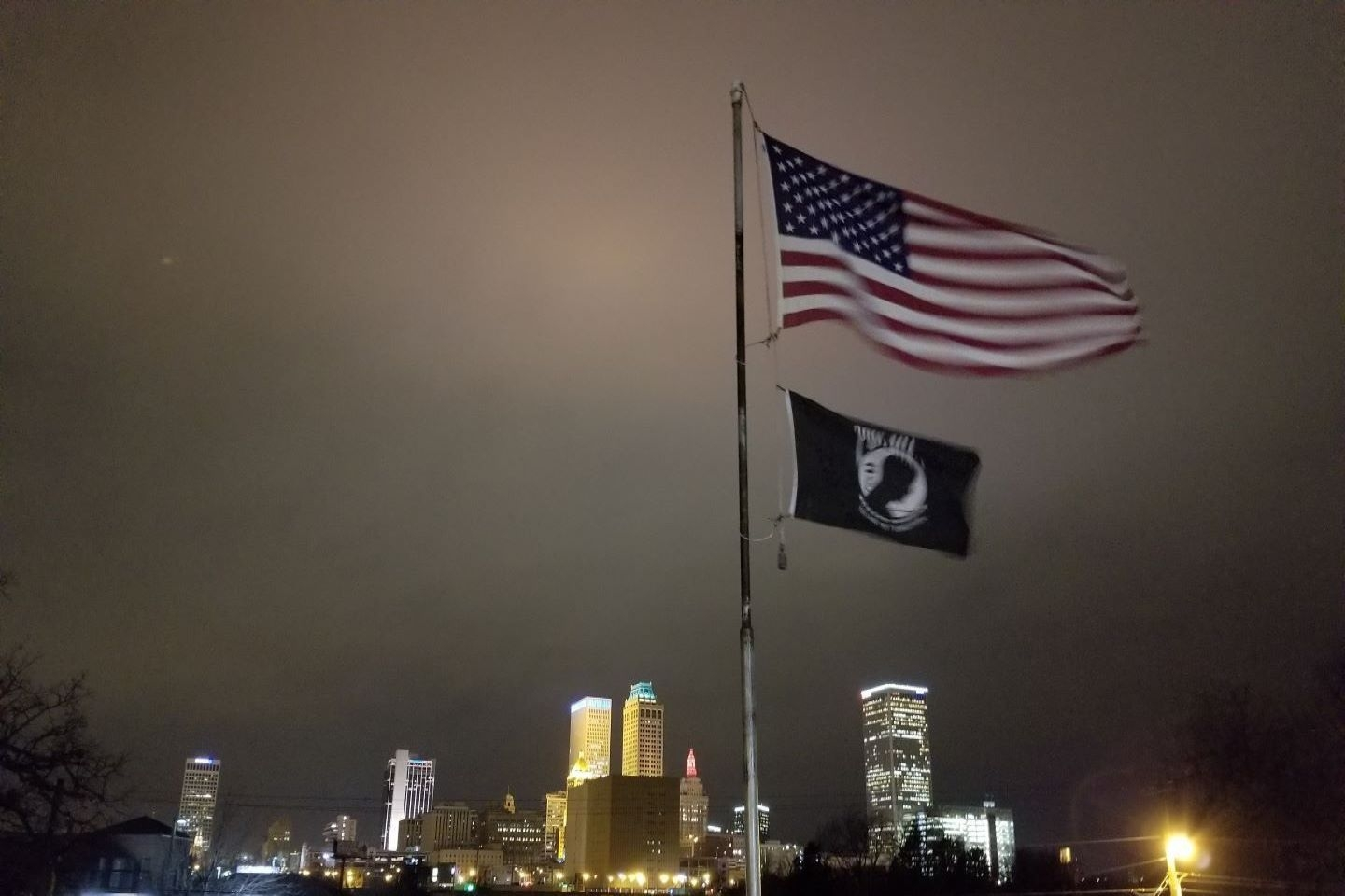 These Colors Fly Proudly Over A Free Tulsa